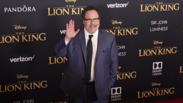 Jon Favreau at the World Premiere of Disney's The Lion King at Dolby Theatre on July 09 2019 in Hollywood California
