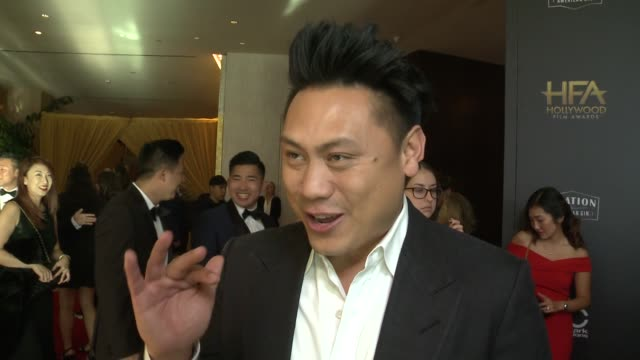 INTERVIEW Jon M Chu at the 22nd Annual Hollywood Film Awards on some of the most exciting aspects of the Hollywood Film Awards at the 22nd Annual...