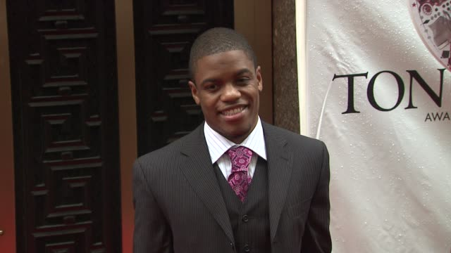 Jon Michael Hill at the 64th Annual Tony Awards at New York NY