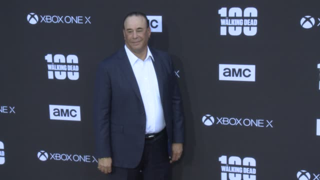 Jon Taffer at the AMC's The Walking Dead 100th Episode Season 8 Special Premiere Screening at The Greek Theatre on October 22 2017 in Los Angeles...
