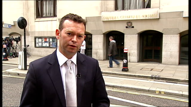 Jon Venables sentenced to two years for child sex offences EXT Reporter to camera
