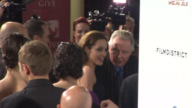 Jon Voight Angelina Jolie at In The Land Of Blood And Honey Los Angeles Premiere] on 12/8/11 in Hollywood CA