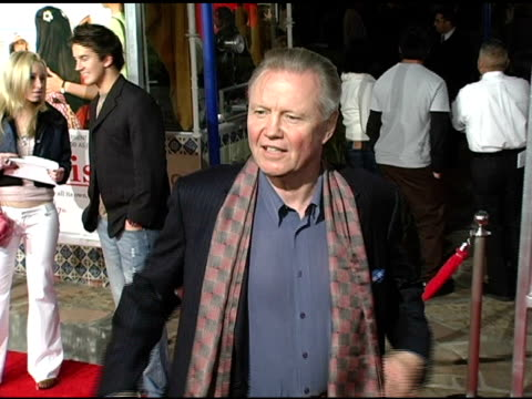 jon voight at the 'spanglish' premiere at the mann village theatre in westwood california on december 9 2004 - spanglish stock videos & royalty-free footage