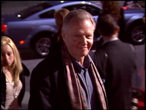 jon voight at the 'spanglish' premiere on december 9 2004 - spanglish stock videos & royalty-free footage