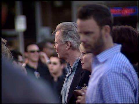 jon voight at the 'terminator 3: rise of the machines' premiere on june 30, 2003. - terminator 3: rise of the machines stock videos & royalty-free footage