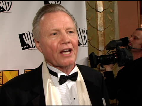 jon voight on modern critics and on highlights of the year at the 2005 critics' choice awards interviews at the wiltern theater in los angeles... - wiltern theater stock videos and b-roll footage