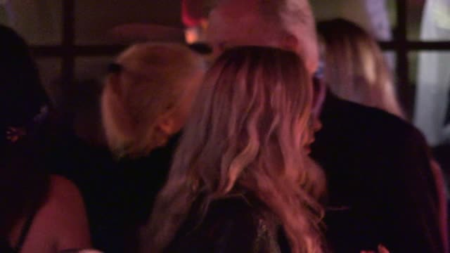 jon voight & skyler shaye depart the variety and women in film pre emmy at party gracias madre in los angeles in celebrity sightings in los angeles, - skyler shaye stock videos & royalty-free footage