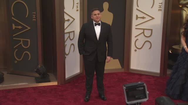 Jonah Hill 86th Annual Academy Awards Arrivals at Hollywood Highland Center on March 02 2014 in Hollywood California