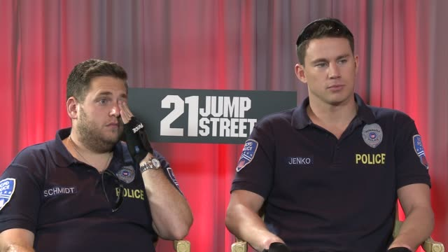 Jonah Hill and Channing Tatum on working with Johnny Depp and the 22 Jumpstreet sequel