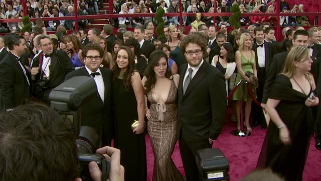 Jonah Hill and Seth Rogen at the 2008 Academy Awards at the Kodak Theatre in Hollywood California on February 24 2008