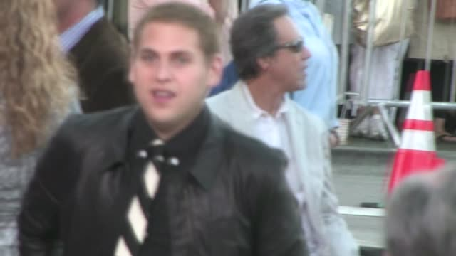Jonah Hill arrives at The ChangeUp Premiere in Westwood