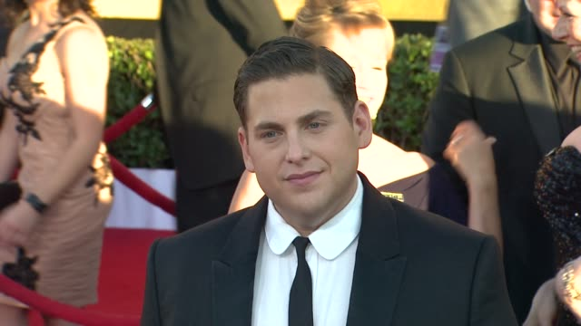 Jonah Hill at 18th Annual Screen Actors Guild Awards Arrivals on 1/29/12 in Los Angeles CA