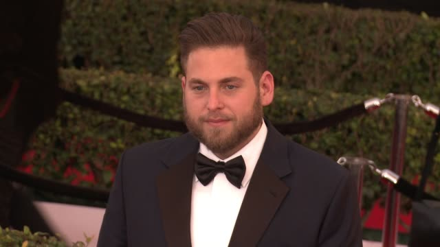 Jonah Hill at 23rd Annual Screen Actors Guild Awards Arrivals in Los Angeles CA