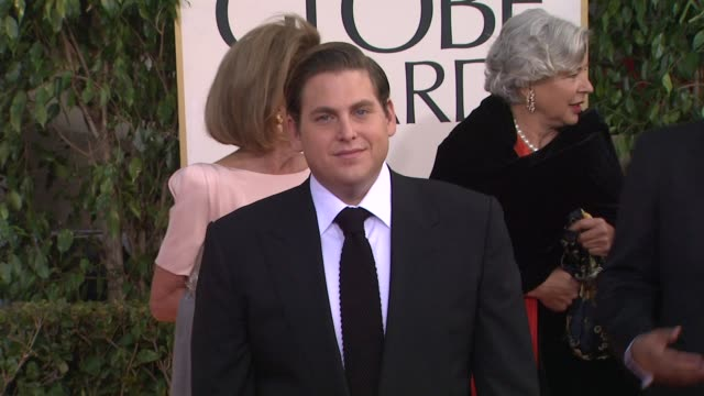 Jonah Hill at 70th Annual Golden Globe Awards Arrivals 1/13/2013 in Beverly Hills CA