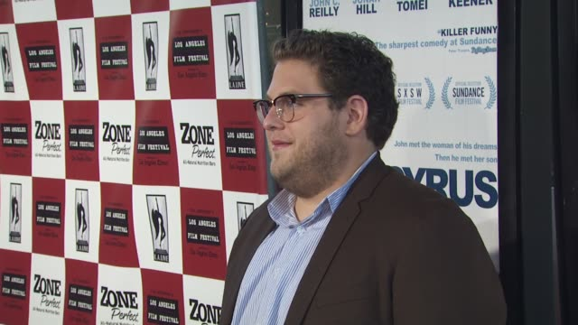 Jonah Hill at the 'Cyrus' Premiere at Los Angeles CA