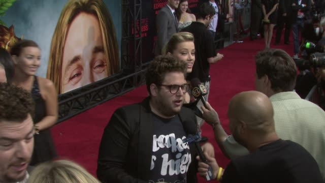 Jonah Hill at the 'Pineapple Express' Premiere at Los Angeles CA