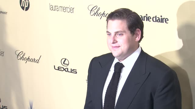 Jonah Hill at The Weinstein Company's 2013 Golden Globe Awards After Party 1/13/2013 in Beverly Hills CA