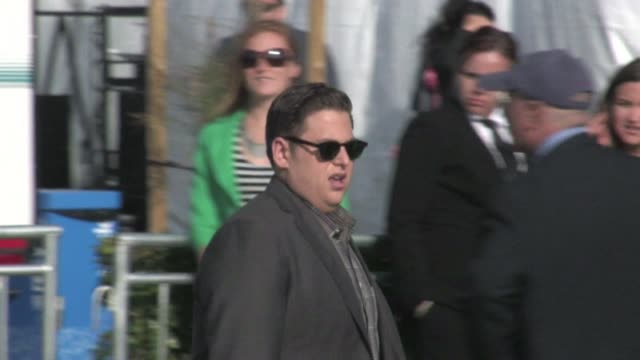 jonah hill greets fans at 2012 film independent spirit awards in santa monica, ca 02/25/12 - independent feature project stock videos & royalty-free footage