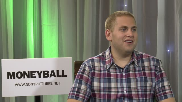 Jonah Hill on how he felt the 'Moneyball' movie was one of the best experiences in his life and the value of life