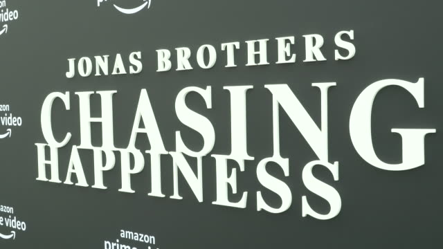 atmosphere jonas brothers' chasing happiness world premiere at regency bruin theatre on june 03 2019 in los angeles california - bruin theater stock videos & royalty-free footage