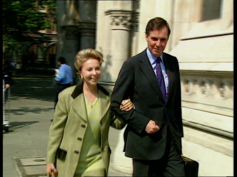 Jonathan Aitken begins libel action against The Guardian and Granada ENGLAND London High Court Former Govt Minister Jonathan Aitken and wife Lolicia...