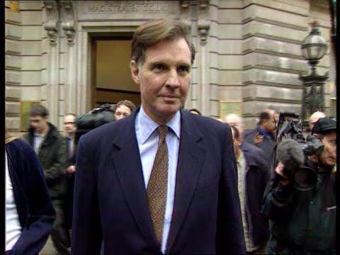 Debt collectors call LIB ENGLAND London Former government minister Jonathan Aitken along with daughter Alexander Order Ref BSP020699040