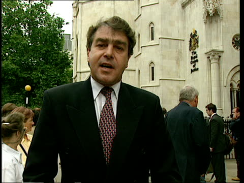 itn england london high court i/c ian mcbride intvwd sot instead of the sword of truth he has used a kind of dagger of deceit peter bottomley mp... - dagger stock videos & royalty-free footage