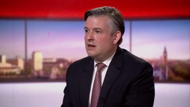 """jonathan ashworth saying the country """"cannot be complacent"""" when relaxing some social distancing measures - bbc stock videos & royalty-free footage"""