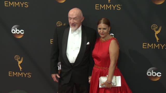 jonathan banks at 68th annual primetime emmy awards - arrivals in los angeles, ca 9/18/16 - annual primetime emmy awards stock videos & royalty-free footage