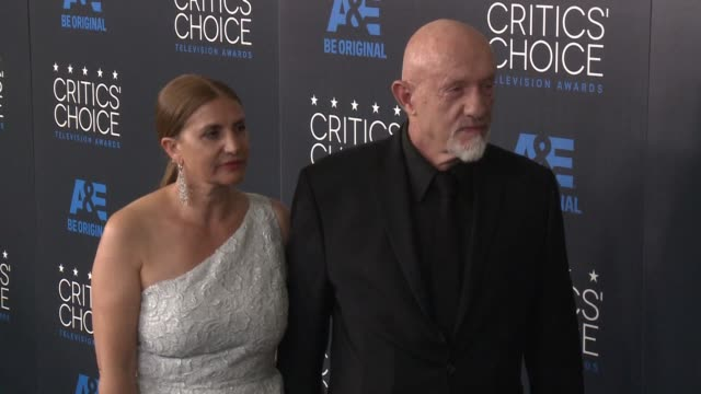 jonathan banks at the 2015 critics' choice television awards at the beverly hilton hotel on may 31, 2015 in beverly hills, california. - 放送テレビ批評家協会賞点の映像素材/bロール