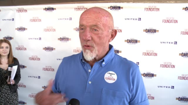 INTERVIEW Jonathan Banks on why it was important for him to play in the SAGAFTRA Foundation golf classic the importance of having a foundation that'...