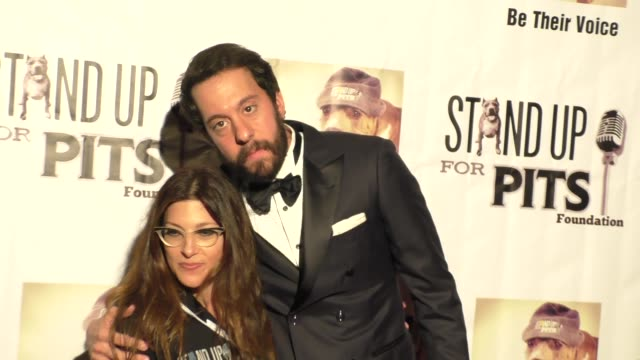 jonathan kite at stand up for pits comedy benefit at the improv comedy club in west hollywood in celebrity sightings in los angeles, - スケッチコメディー点の映像素材/bロール