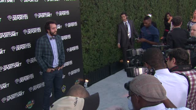 jonathan kite at time warner sports celebrates launch of time warner cable sportsnet and time warner cable deportes networks on 10/1/2012 in el... - el segundo stock videos & royalty-free footage