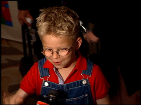 jonathan lipnicki at the race to erase gala at the century plaza hotel in century city, california on april 28, 2000. - century plaza stock videos & royalty-free footage