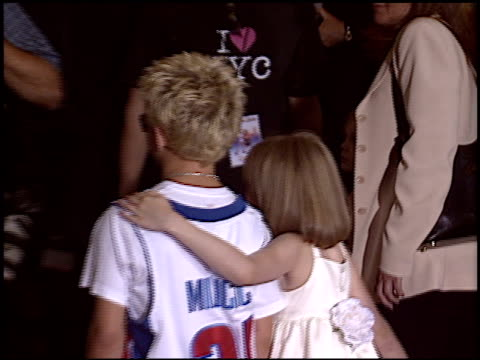 jonathan lipnicki at the 'uptown girls' premiere at the cinerama dome at arclight cinemas in hollywood california on august 4 2003 - arclight cinemas hollywood stock videos and b-roll footage