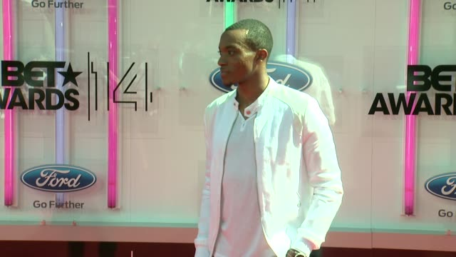 jonathan mcreynolds at the 2014 bet awards on june 29 2014 in los angeles california - bet awards stock videos and b-roll footage