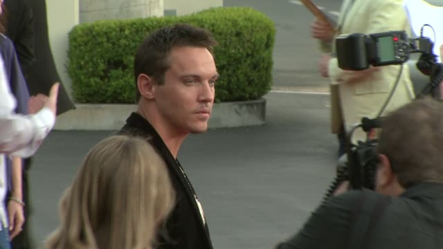 jonathan rhys meyers at the 'the soloist' premiere at los angeles ca. - soloist stock videos & royalty-free footage