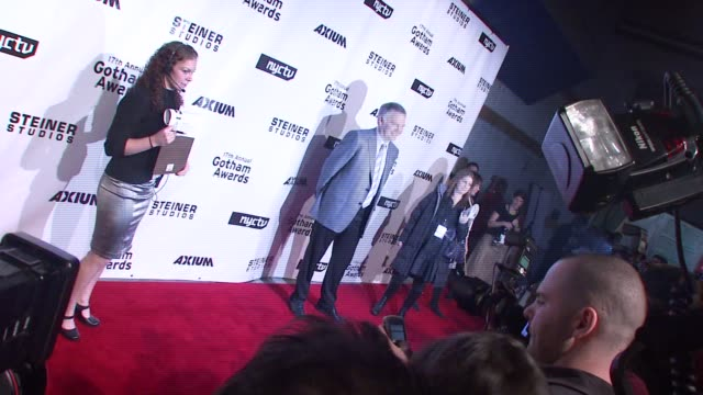 jonathan sehring at the 17th annual gotham awards presented by ifp at steiner studios in brooklyn, new york on november 27, 2007. - independent feature project stock videos & royalty-free footage