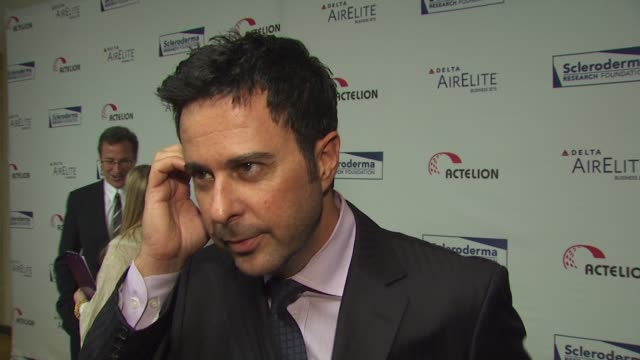 Jonathan Silverman on attending tonight's event on Bob Saget on Scleroderma and on if he's watching Dancing With the Stars at the Scleroderma...