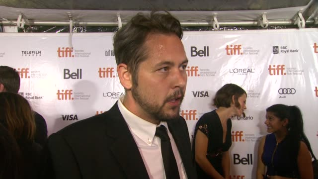 INTERVIEW Jonathan Sobol on TIFF experiences at The Art Of The Steal Premiere 2013 Toronto International Film Festival on 9/11/2013 in Toronto Canada