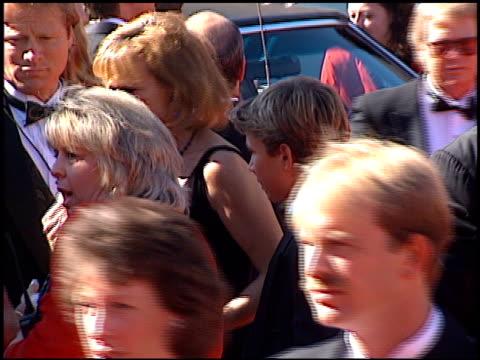 Jonathan Taylor Thomas at the 1996 Emmy arrivals at the Pasadena Civic Auditorium in Pasadena California on September 8 1996