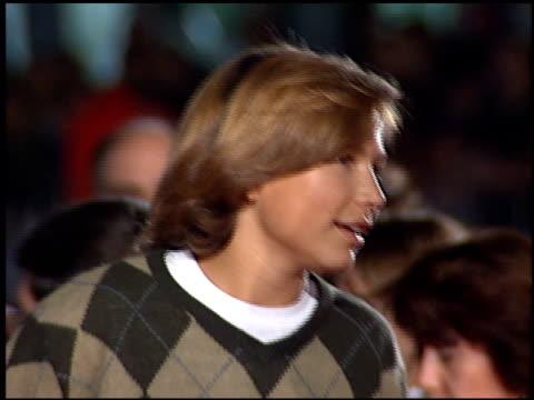 Jonathan Taylor Thomas at the 'Ace Ventura II When Nature Calls' Premiere on November 8 1995