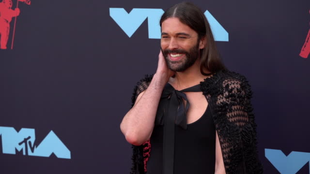jonathan van ness at 2019 mtv video music awards at prudential center on august 26, 2019 in newark, new jersey. - mtv video music awards stock videos & royalty-free footage