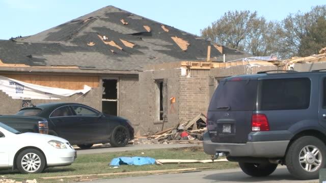 wreg jonesboro ar us mass damage after tornado on saturday march 29 2020 - blowhole stock videos & royalty-free footage