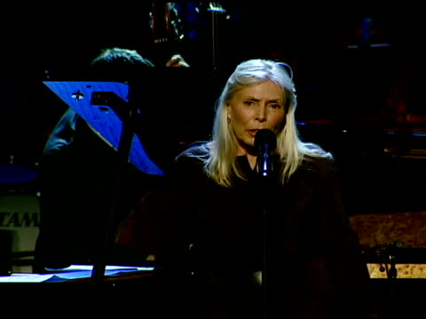 Joni Mitchell and Herbie Hancock at the The Thelonious Monk Institute Of Jazz and The Recording Academy® Los Angeles Chapter Partner to Honor Jazz...