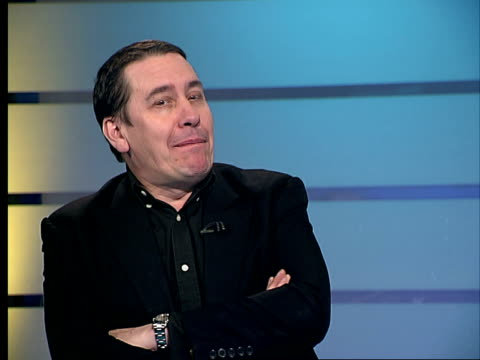 jools holland releases album of greatest collaborative hits; jools holland interview sot - on teaching music / on learning instruments at an older... - jools holland stock-videos und b-roll-filmmaterial