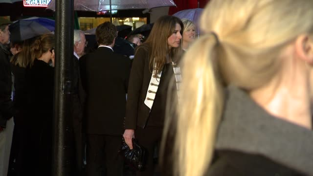 jools oliver jamie oliver dexter fletcher at the kickass uk premiere at london england - kick ass film title stock videos & royalty-free footage
