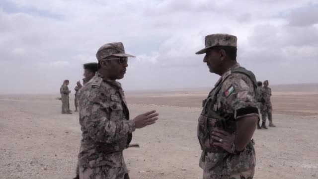 Jordan and the United States took part Tuesday in the annual Eager Lion military exercise with a total of 6000 troops undertaking 10 days of...