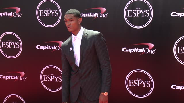 jordan clarkson at the 2016 espy awards at microsoft theater on july 13 2016 in los angeles california - microsoft theater los angeles stock videos and b-roll footage