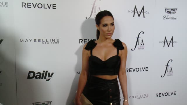 Jordan Duffy at the The Daily Front Row Hosts 2nd Annual Fashion Los Angeles Awards at Sunset Tower on March 20 2016 in West Hollywood California